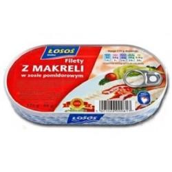 Evra Filet z makreli w pomidorach 195g