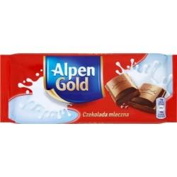 Czekolada Alpen Gold mleczna 90 g.