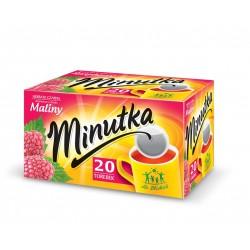 Herbata ekspresowa malina Minutka 20szt. 28g.