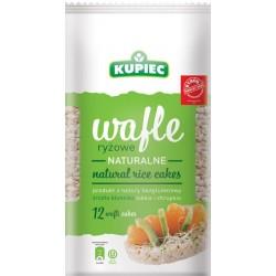 Wafle ryżowe Kupiec naturalne 120 g.
