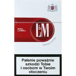 Papierosy L&M red
