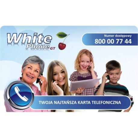 Karta telefoniczna White Phone
