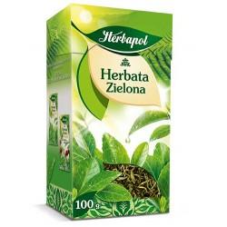 Herbata Zielona liściasta Herbapol 80g