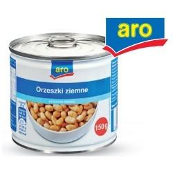 Orzeszki ziemnie solone ARO puszka 150g.