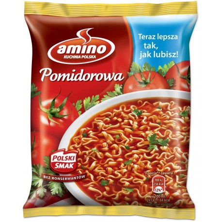 Zupa Chinska Amino Pomidorowa 61g Rakon Zabrze