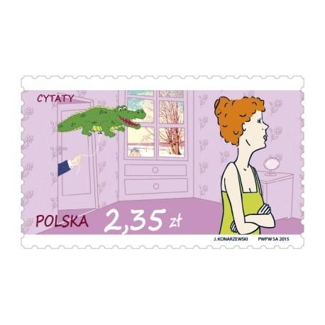 Znaczek pocztowy priorytet