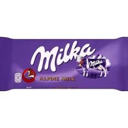 Czekolada Milka mleczna 100 g.