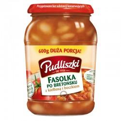 Fasolka po bretońsku Pudliszki 600 g.
