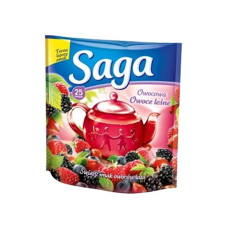 Herbata ekspresowa Saga owoce lata 25 szt. 45g.