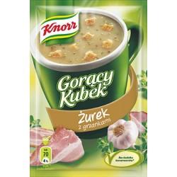 Gorący kubek żurek Knorr 17 g.