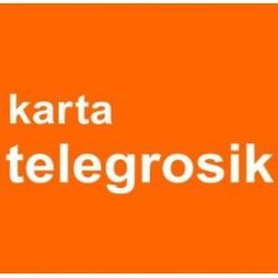 KARTA TELEFONICZNA TELEGROSIK 8zł