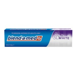 Pasta blend-a-med 3d white 100ml.