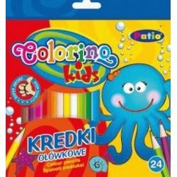 Kredki ołówkowe Patio 12 kolorów