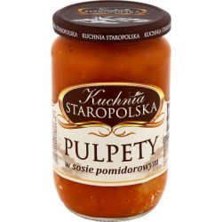 Pulpety w sosie pomidorowym Kuchnia Staropolska 700g.