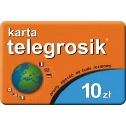 KARTA TELEFONICZNA TELE GROSIK 10