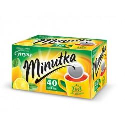 Herbata ekspresowa cytryna Minutka 40szt. 56g.