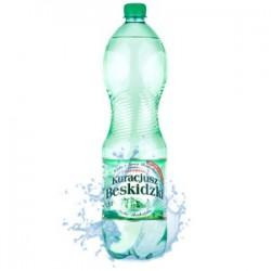 Woda mineralna Kracjusz gaz, niegazowana 1,5l