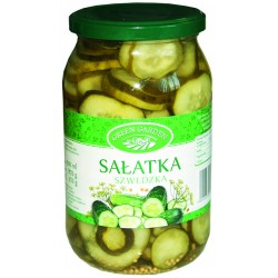 Sałatka szwedzka green 900ml.